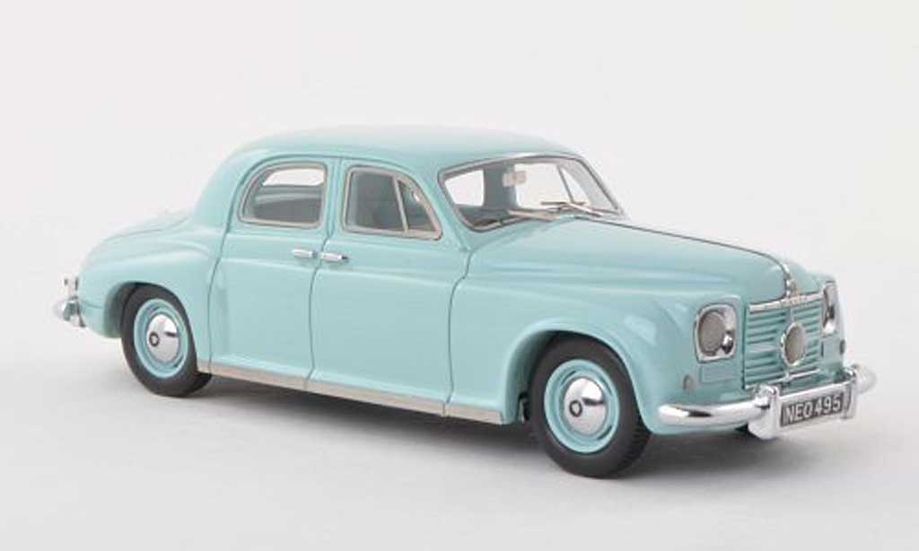 Rover P4 75 1/43 Neo clair-turquoise RHD 1949 miniature