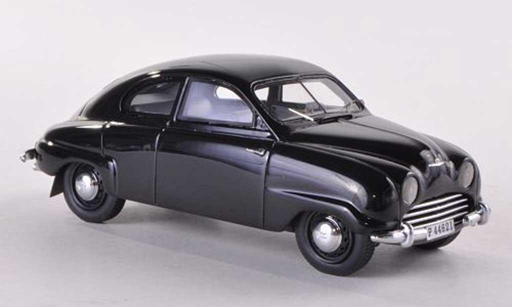 Saab 92b Black 1958 Neo Diecast Model Car 1 43 Buy Sell