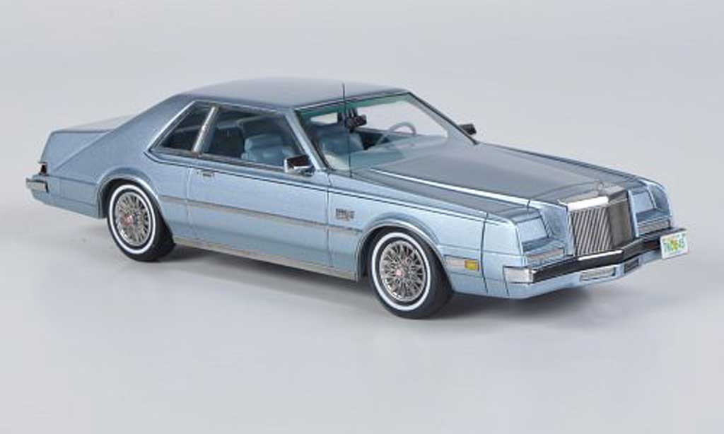 Imperial Coupe 1/43 Neo grise bleu 1983 miniature