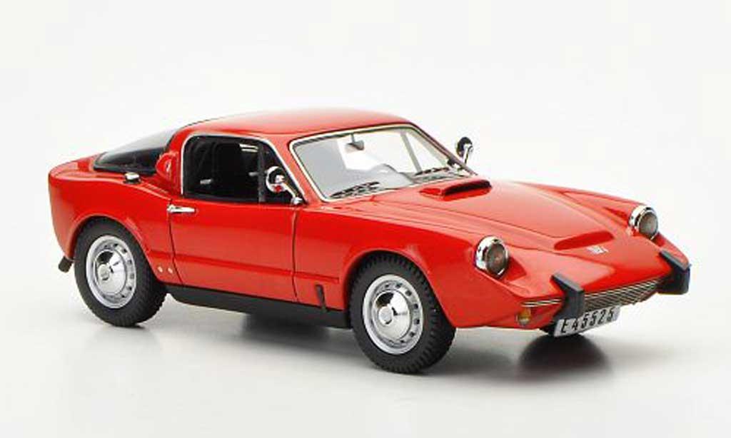 Saab Sonett 1966 1/43 Neo II rouge miniature