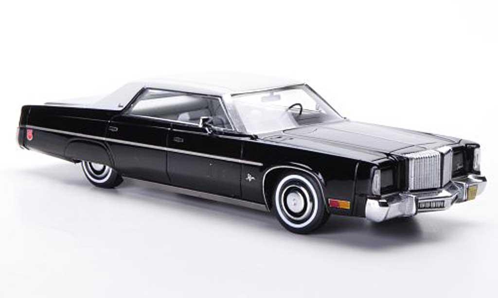 Chrysler Imperial 1/43 Neo 4-Door Hardtop Sedan noire/blanche 1975 miniature