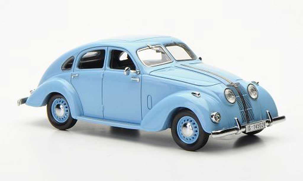 Adler 2.5 L 1/43 Neo L Autobahn bleu 1937 miniature