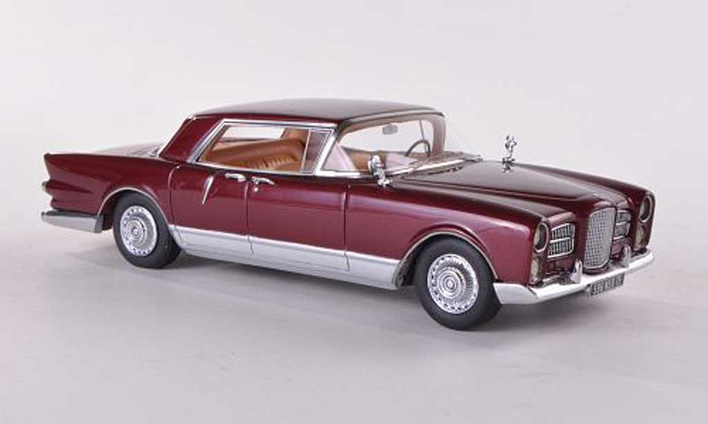 Facel Vega Excellence 1/43 Neo rouge/grise 1958