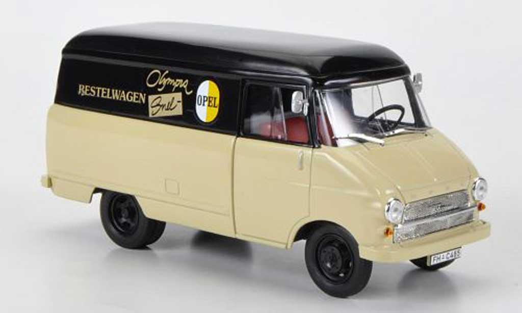 Opel Blitz 1/43 Starline Kastenwagen A Snelbestelwagen 1960 miniature