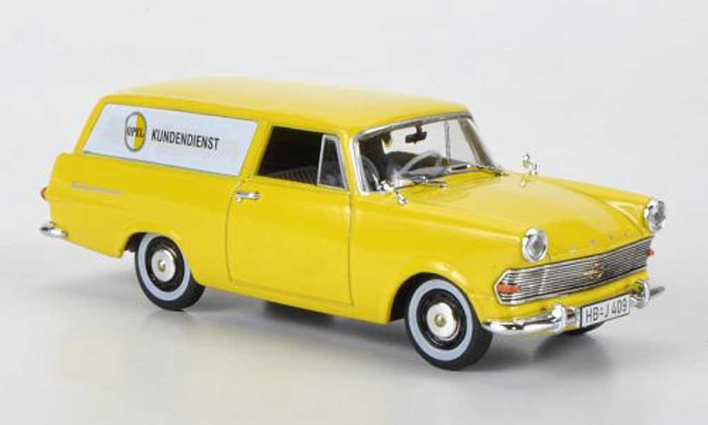 Opel Rekord 1/43 Starline P2 Caravan Kundendienst 1960 miniature