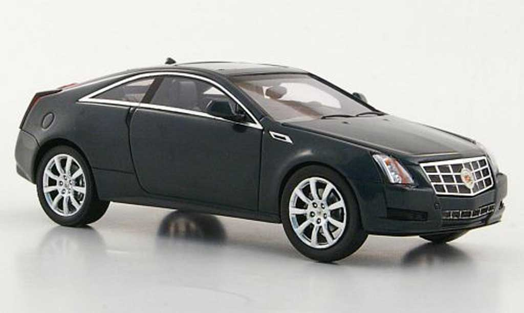 Cadillac CTS 1/43 Luxury Collectibles Coupe grise 2011 miniature