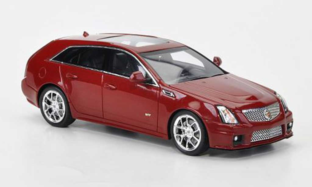 Cadillac CTS-V 1/43 Luxury Collectibles Sport Wagon rouge 2011 miniature