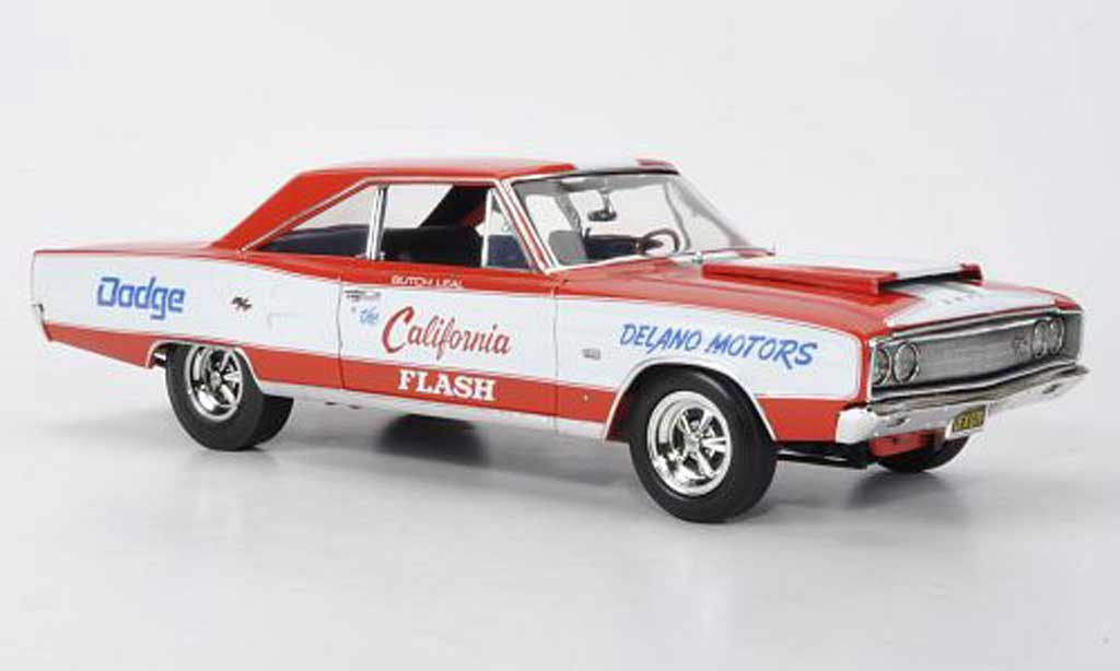 Dodge Coronet 1967 1/18 Highway 61 R/T The California Flash Butch Leal miniature