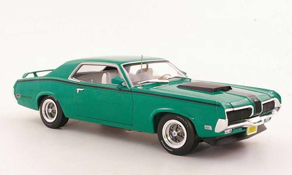 Mercury Cougar 1/18 Ertl Eliminator verte/noire 1970 miniature