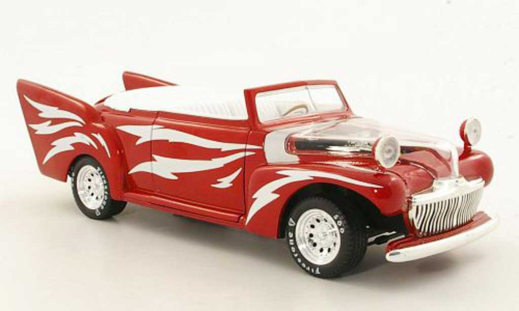 Greased Lighting Grease 1/18 Ertl rouge miniature