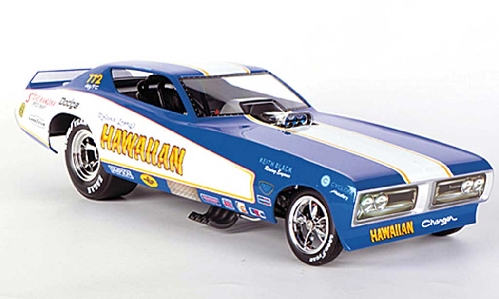 Dodge Charger 1971 1/18 Ertl Funny Car Hawaiian Racing B.Mass NHRA diecast