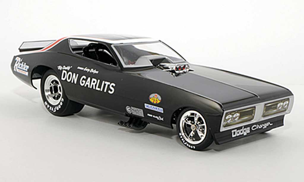 Dodge Charger 1971 1/18 Ertl NHRA Funny Car Don Garlits diecast