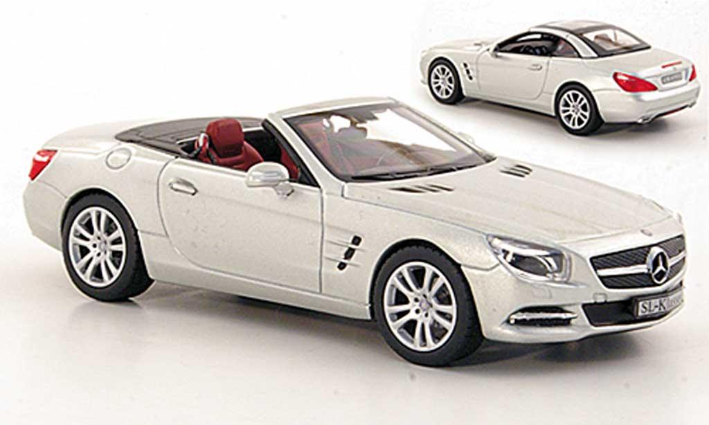 Mercedes Classe SL 1/43 Norev (R231) grise  2012 miniature