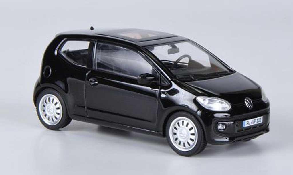 volkswagen up 2011 miniature noire schuco 1 43 voiture. Black Bedroom Furniture Sets. Home Design Ideas