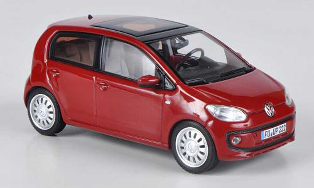 Volkswagen UP! 2011 1/43 Schuco 2011 rouge 5-turig miniature
