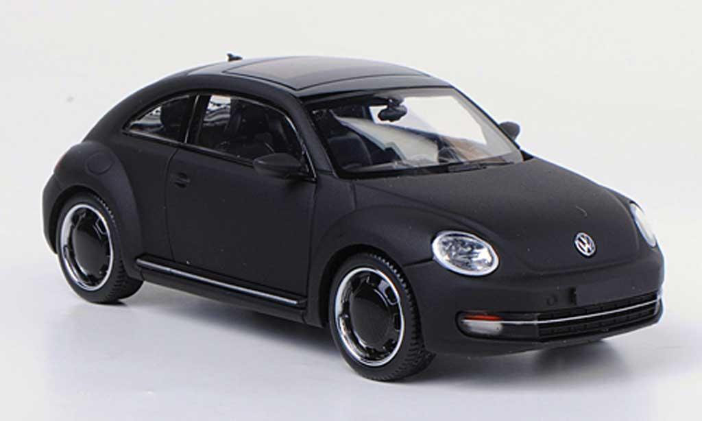 Volkswagen Beetle 1/43 Schuco mattnoire concept black miniature