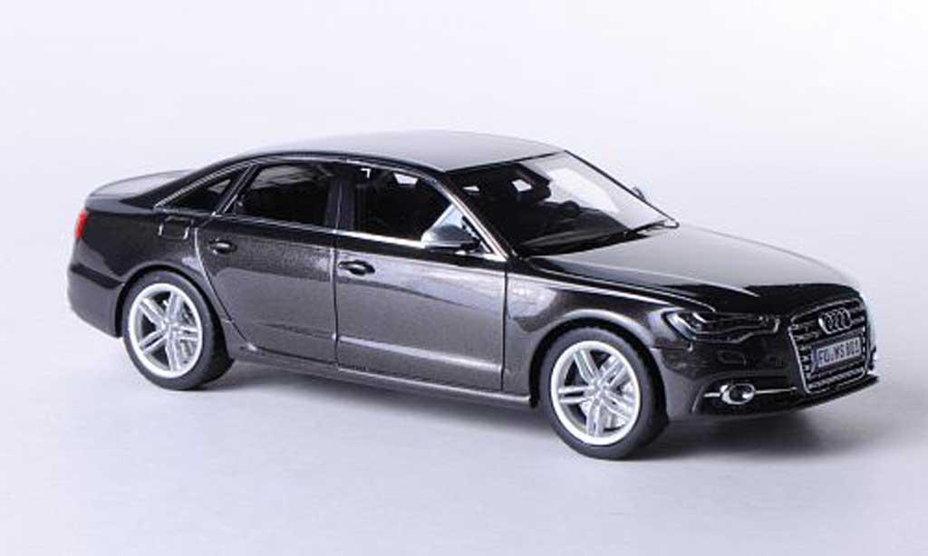 Audi S6 1/43 Schuco (C7) grise 2012 miniature
