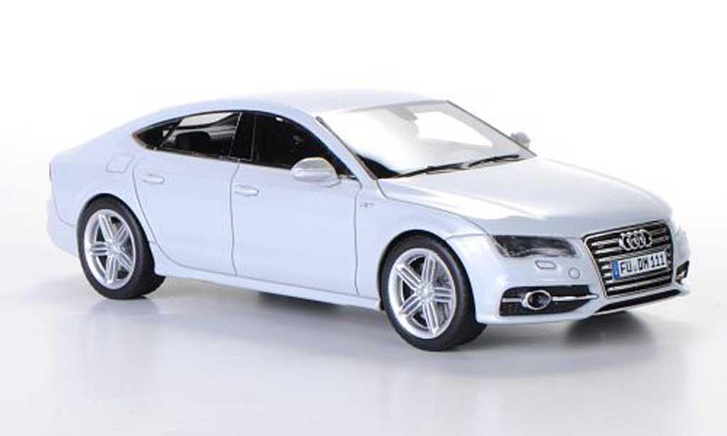 Audi S7 1/43 Schuco Sportback grey 2012 diecast model cars