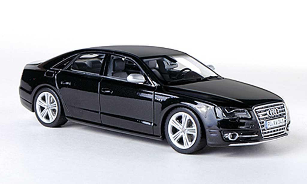 Audi S8 1/43 Schuco (D4) noire 2012 miniature
