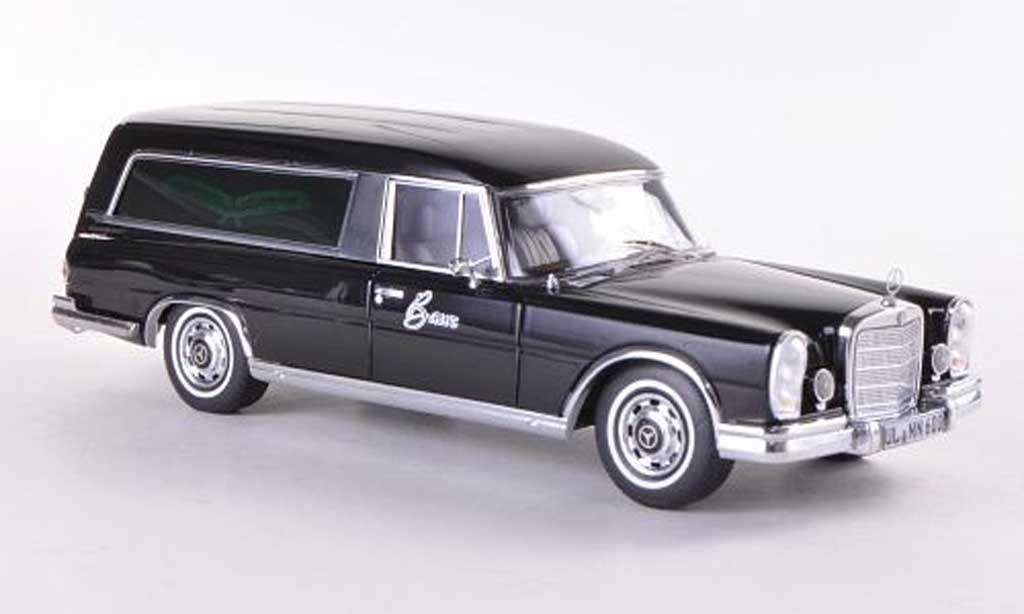 Mercedes 600 1/43 Schuco Bestattungswagen miniature