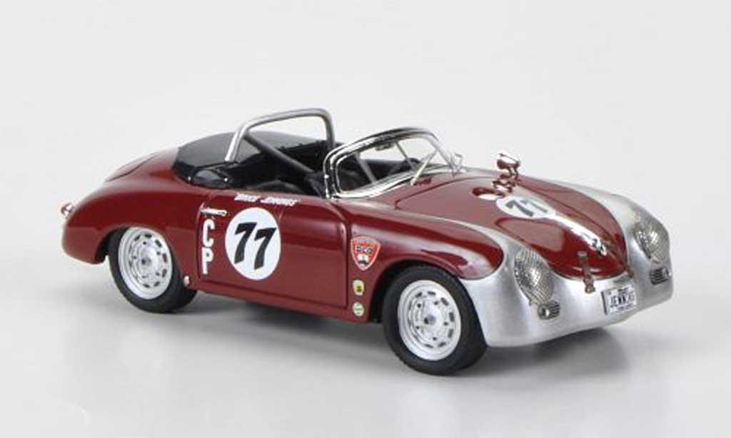 Porsche 356 1/43 Schuco A Speedster No.77 Bruce Jennings miniature