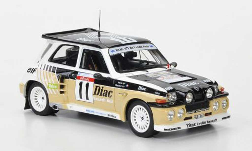 Renault 5 Turbo 1/43 Schuco No.11 Diac Rally Korsika 1986 miniature