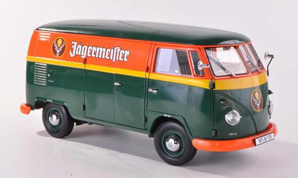 volkswagen t1 kasten jagermeister schuco diecast model car. Black Bedroom Furniture Sets. Home Design Ideas