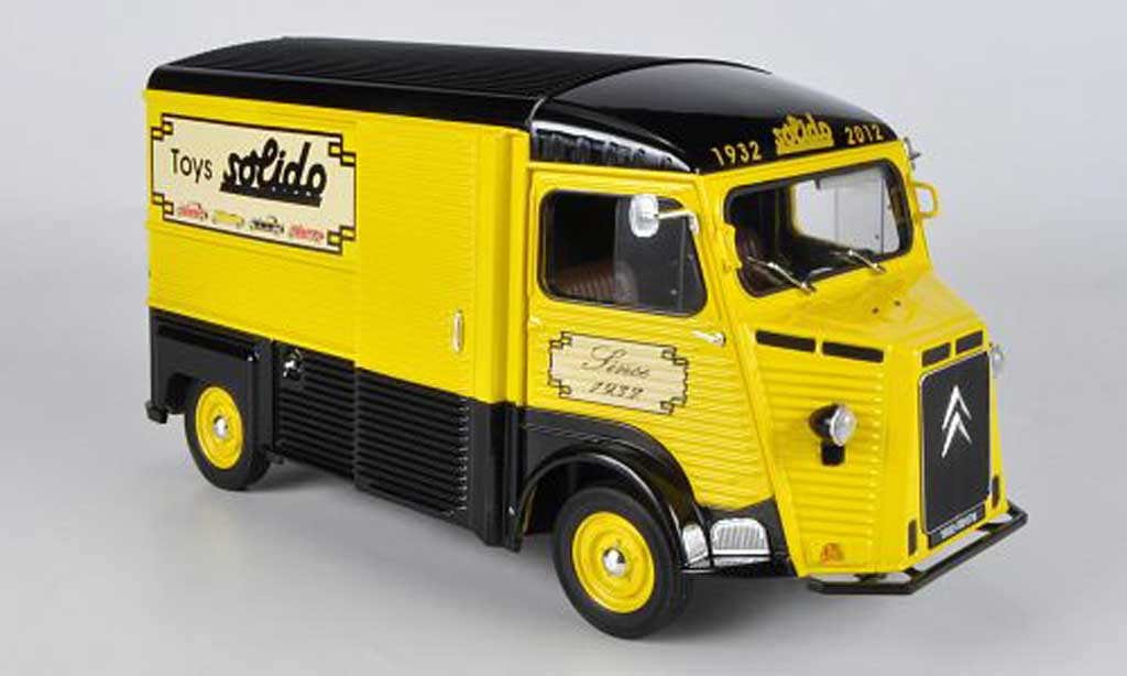 Citroen HY 1/18 Solido Kasten Jouets Solido 80th Anniversary: 1932 - 2012 miniature