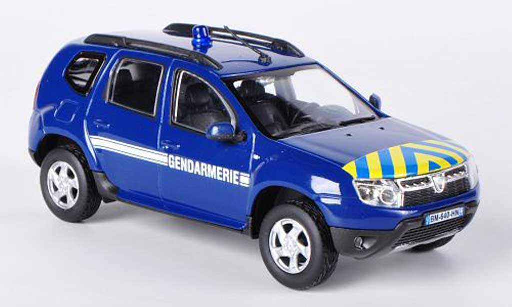 dacia duster miniature gendarmerie polizei f 2011 solido 1 43 voiture. Black Bedroom Furniture Sets. Home Design Ideas