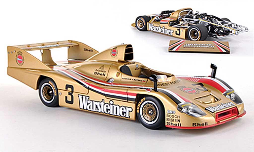 Porsche 936 1/18 TrueScale Miniatures No.3 Warsteiner Team - Joest Racing L.v.Bayern DRM Hockenheim  miniature