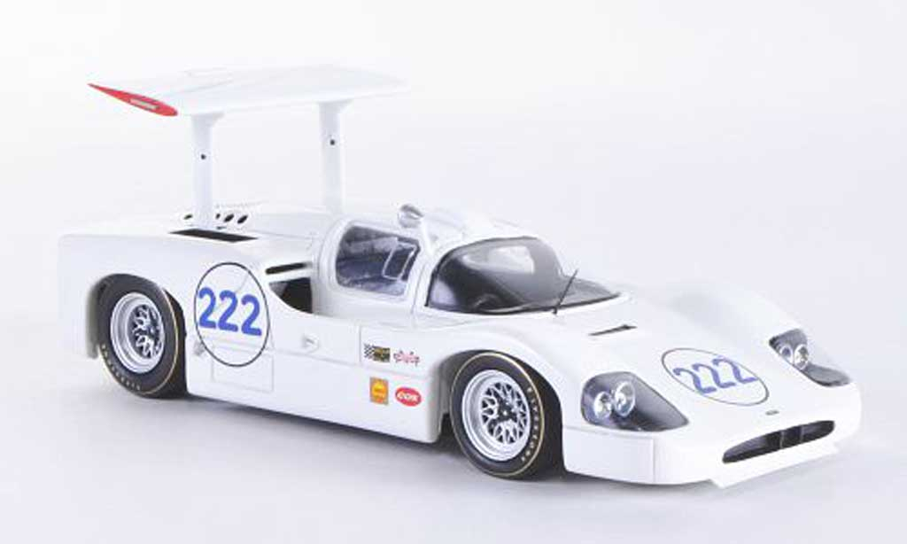 Chaparral 2F 1/43 TrueScale Miniatures No.222 P.Hill / H.Sharp Targa Florio 1967 miniature