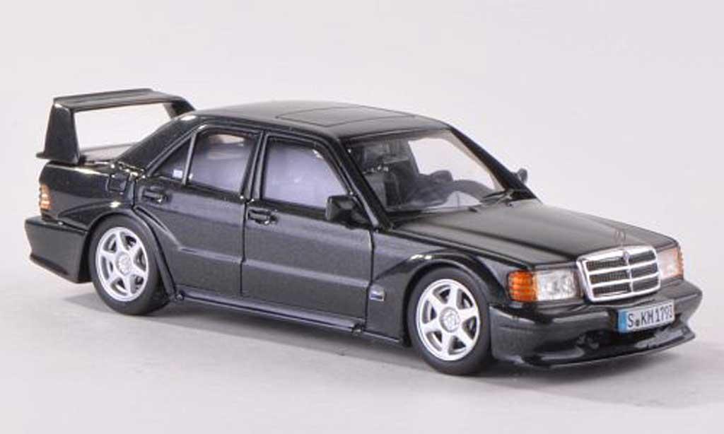 Mercedes 190 E 1/43 TrueScale Miniatures 2.5-16 VO2 anthrazit 1990 diecast model cars