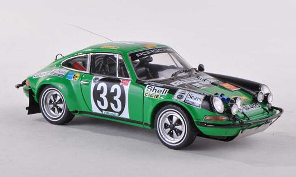Porsche 911 1/43 TrueScale Miniatures ST No.33 celui-ci Africain Safari Rally  1971 B.Waldegaard/L.Helmer