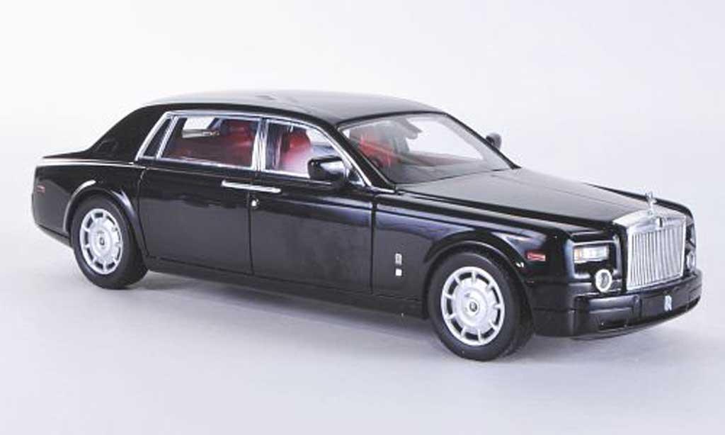 Rolls Royce Phantom 2010 1/43 TrueScale Miniatures LWB noire RHD miniature