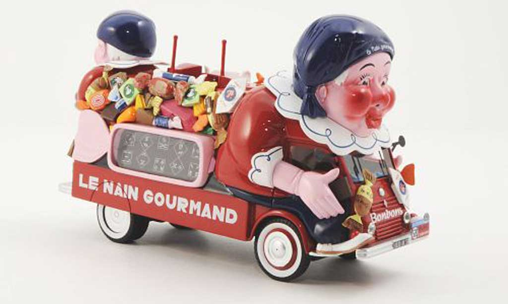 Renault 1400KG 1/43 Provence Moulage Le Nain Gourmand Tour de France 1952 diecast model cars