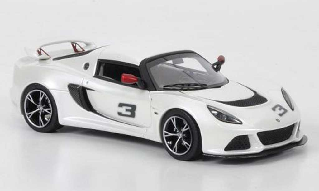 Lotus Exige 1/43 Look Smart S No.3 weiss modellautos