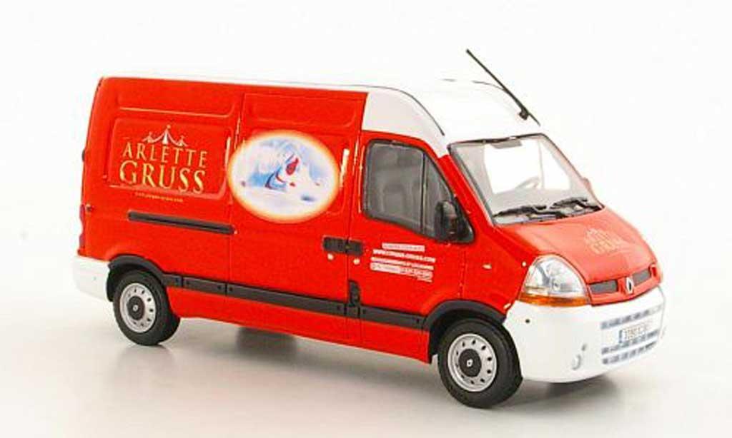 Renault Master 1/43 Eligor Kasten Circus Arlette Gruss 2011 miniature