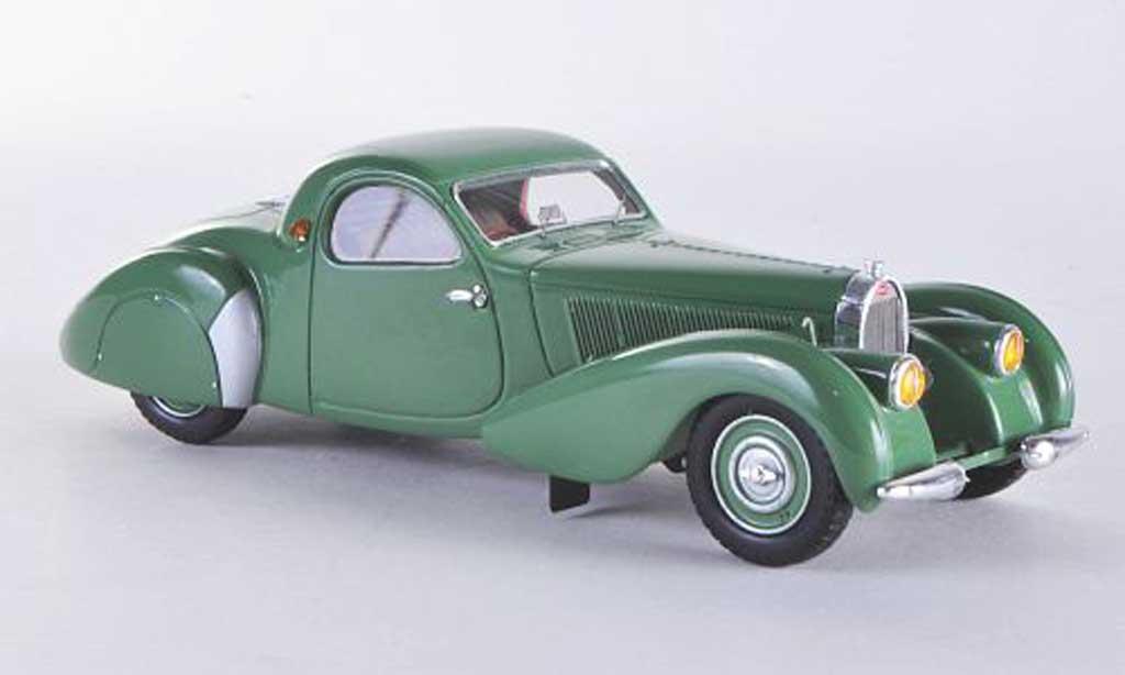 Bugatti 57 C 1/43 Minichamps oupe grun 1939 miniature