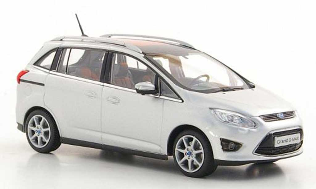 Ford Granada 1/43 Minichamps Grand C-Max grise  2010 miniature
