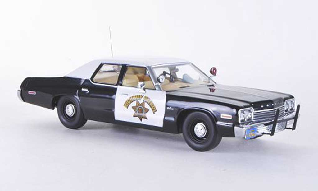Dodge Monaco 1974 1/43 Minichamps Highway Patrol miniature