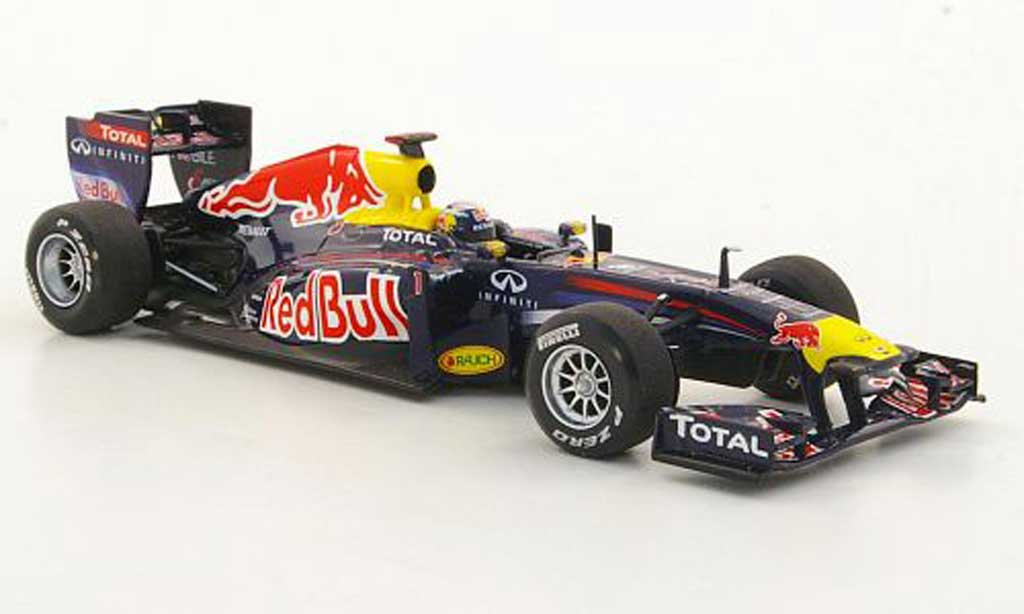 Renault F1 2011 1/43 Minichamps Red Bull RB7 No.1 S.Vettel GP Malaysia miniature