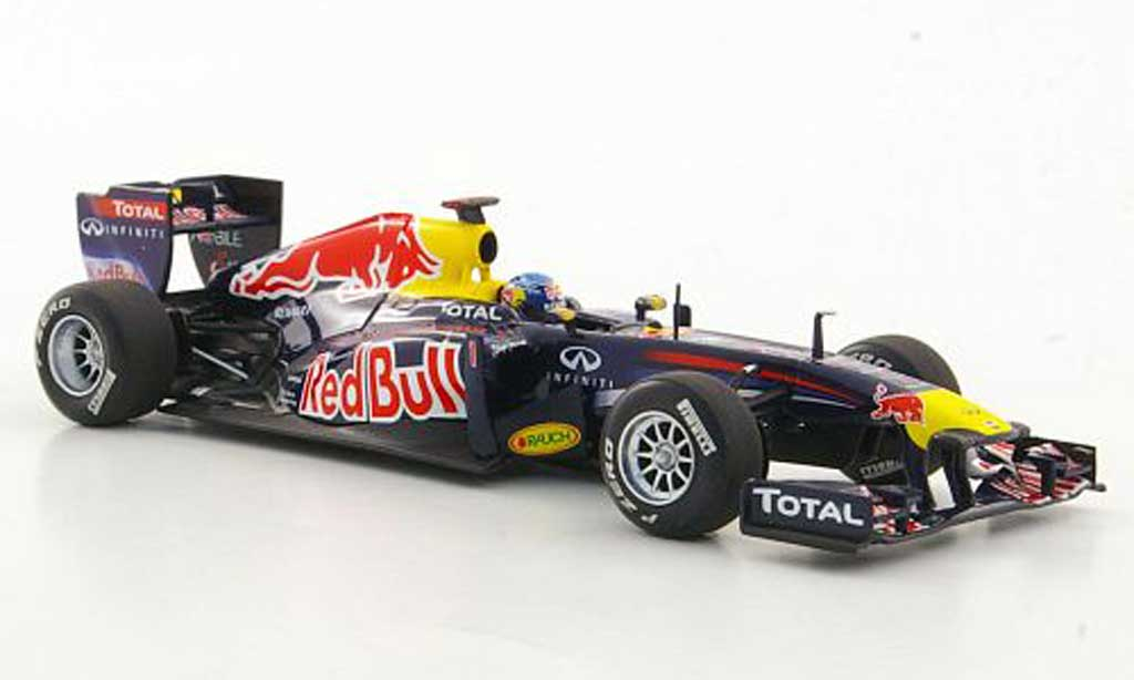 Renault F1 2011 1/43 Minichamps Red Bull RB7 No.1 S.Vettel GP Turkei miniature