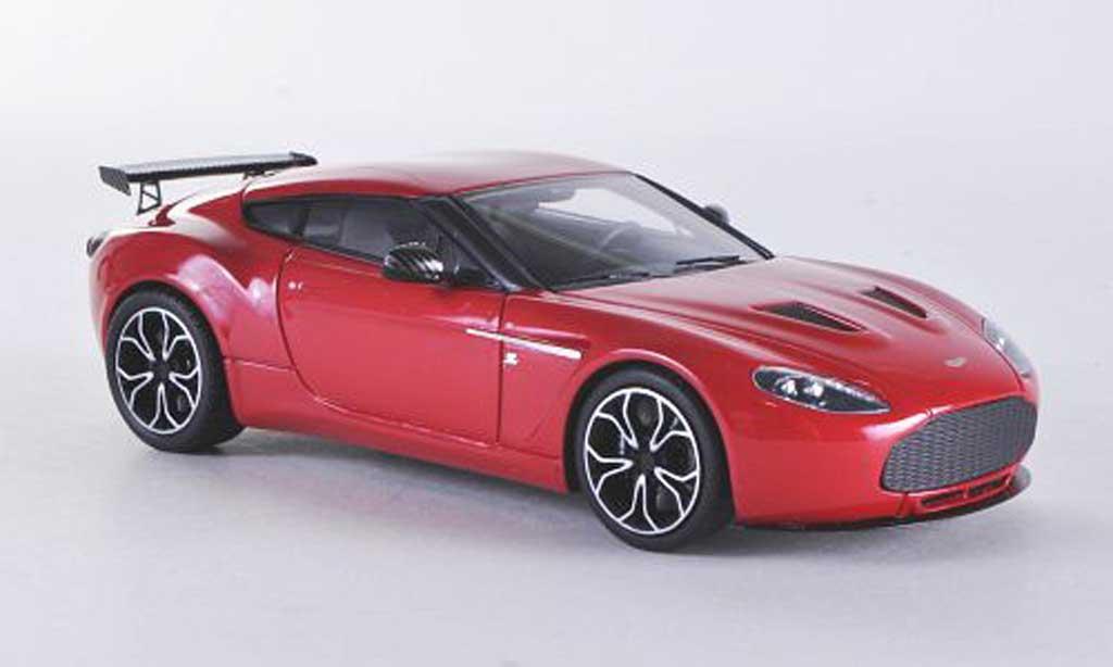 Miniature Aston Martin V12 Zagato rouge 2012 Minichamps. Aston Martin V12 Zagato rouge 2012 miniature 1/43