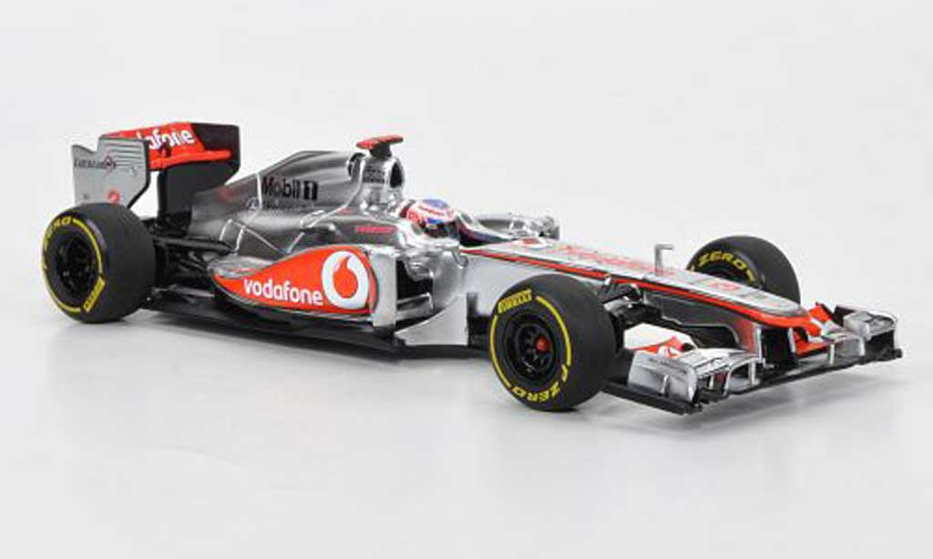Mercedes F1 2012 1/43 Minichamps McLaren No.3 Vodavone J. Button Showcar miniature