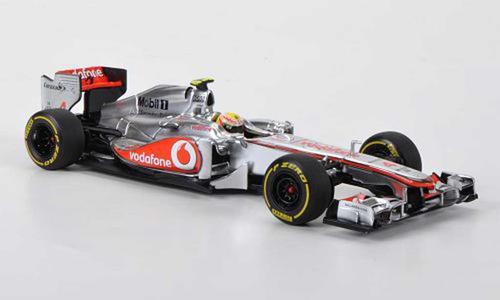 Mercedes F1 2012 1/43 Minichamps McLaren Vodafone No.4 L.Hamilton Prasentationsfahrzeug miniature