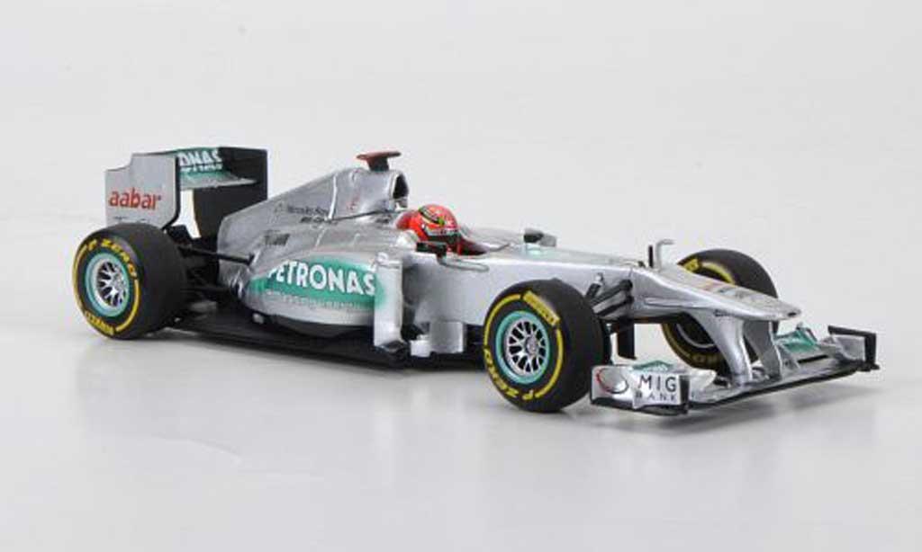Mercedes F1 2012 1/43 Minichamps AMG Petronas Team No.7 M.Schumacher Prasentationsfahrzeug miniature