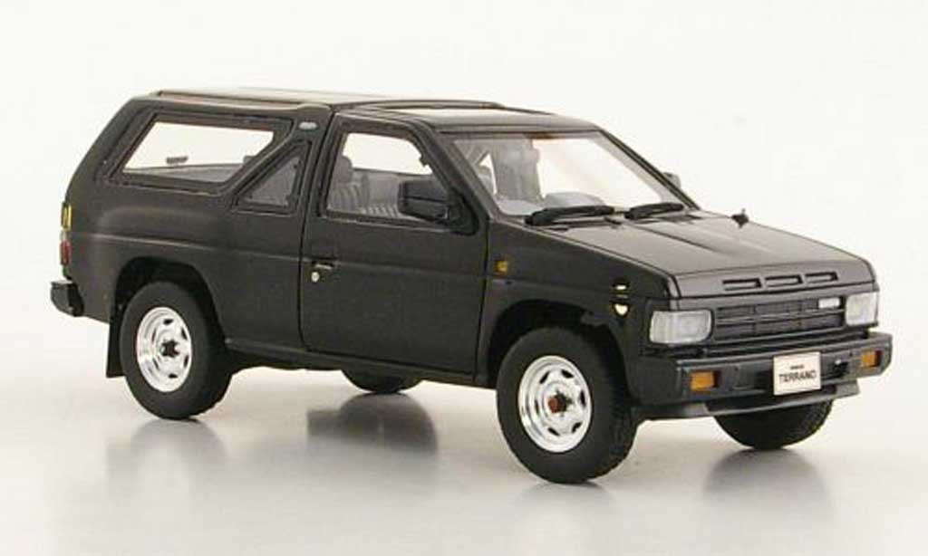 Nissan Terrano 1/43 Hi Story (R3M) black 3-portes RHD 1986 diecast model cars