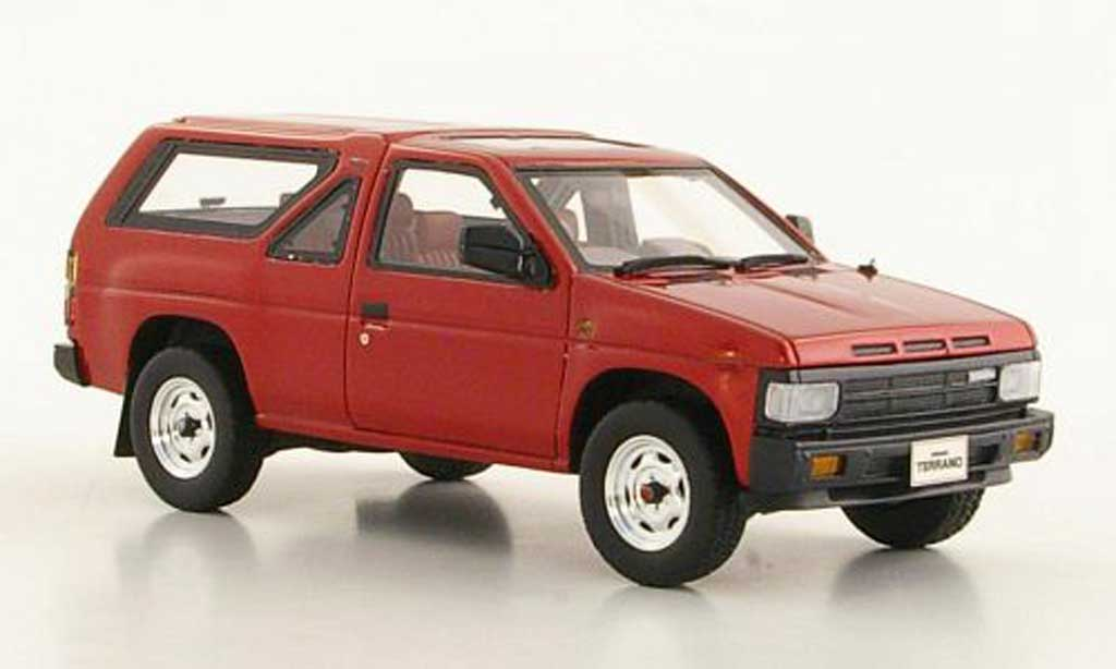 nissan terrano r3m red 3 doors rhd 1986 hi story diecast. Black Bedroom Furniture Sets. Home Design Ideas