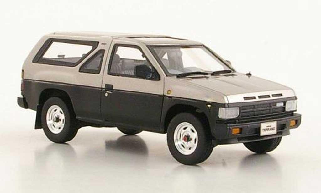 Miniature Nissan Terrano (R3M) grise grise/noire 3-portes RHD 1986 Hi Story. Nissan Terrano (R3M) grise grise/noire 3-portes RHD 1986 miniature 1/43
