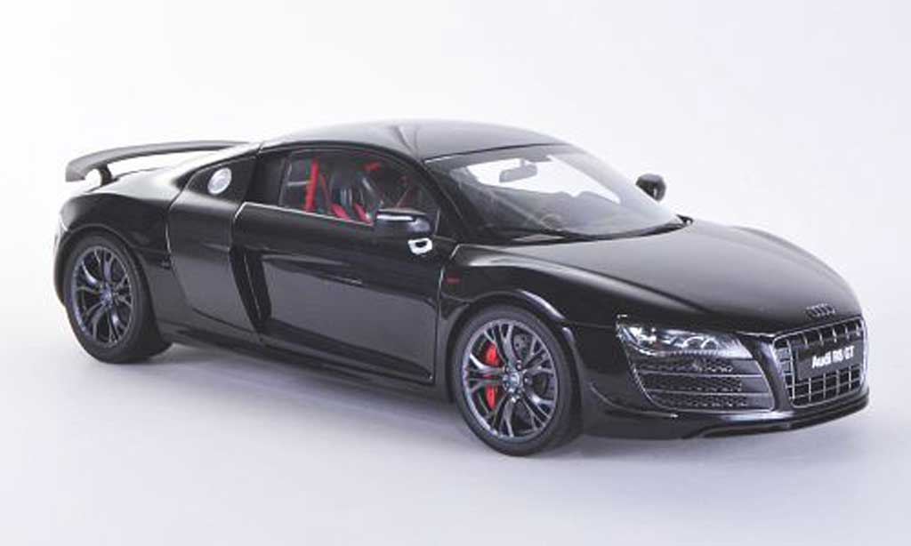 Audi R8 GT 1/18 Kyosho black/carbon diecast model cars